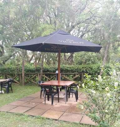Garden parasols image 1