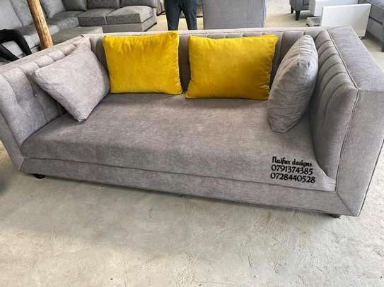 Three seater sofas for sale in Nairobi Kenya/modern brown sofas for sale image 1