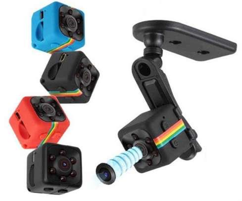SQ11 Mini Camera Puqing 960P Sports TV Infrared Night Vision Pocket Motion Sensor Small Camera Sports DV Camera image 1