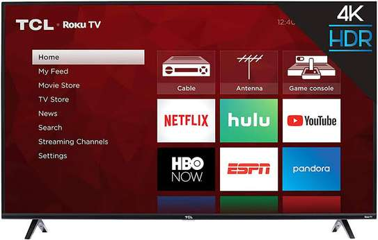 TCL 55 inches Android Smart UHD-4K Digital TVs 55P617 image 1