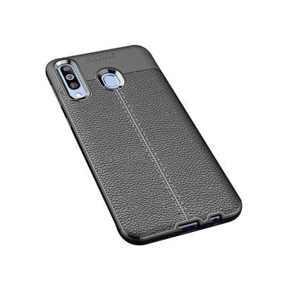 Auto Focus Leather Pattern Soft TPU Back Case Cover for Samsung M10 M20 M30 image 10