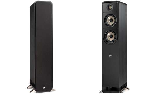 The NEW Polk Audio S50e High Resolution Home Theatre Tower Speakers, Pair image 3