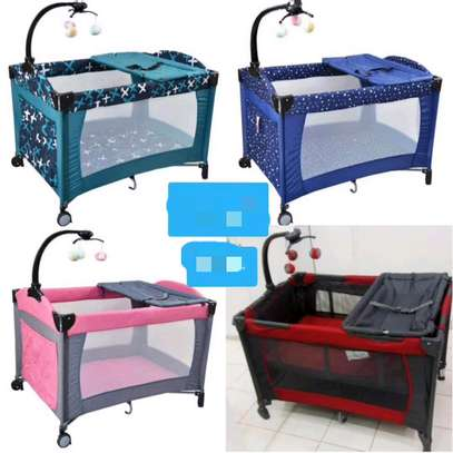Portable baby bed( playpen) image 2