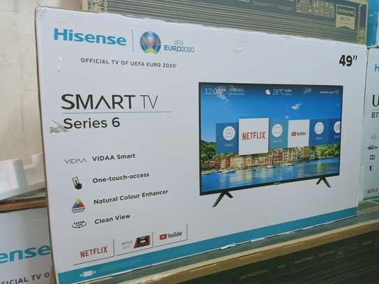 Hisense 49 inches smart tv image 1