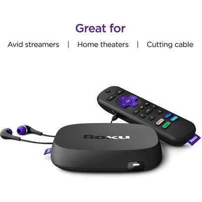 ROKU ULTRA 2020 | STREAMING MEDIA PLAYER HD/4K/HDR/DOLBY VISION & DOLBY ATMOS image 2