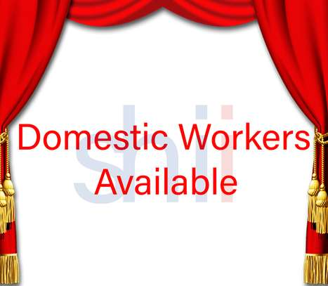 Maids/Domestic Workers Available image 1