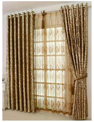Gold CURTAINS AND SHEERS image 2