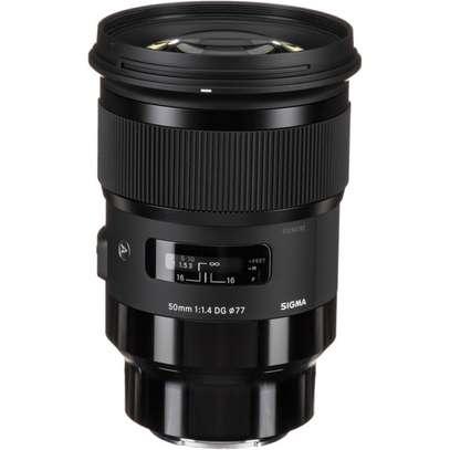 Sigma 50mm f/1.4 DG HSM Art Lens for Sony E image 1