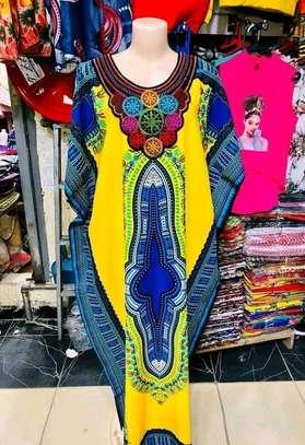 Dashiki maxi dress image 2
