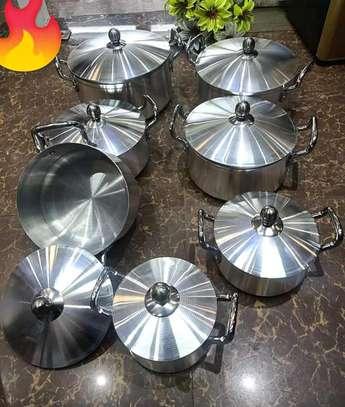 14pcs aluminium sufurias on offer image 1