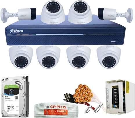 Eight Channel Dahua CCTV Cameras CCTV Cameras image 1