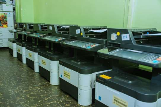 New Series New Arrival Kyocera Ecosys M3540idn Photocopier image 2