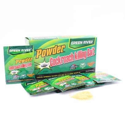 Cockroach Killing Bait Insecticide Powder - 50 Pcs per Box image 1