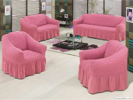 Ready Made Loose Covers 5 seater 11500/= image 6