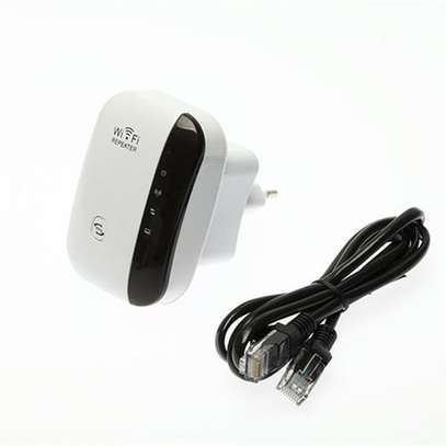 Wifi Repeater 300M Range Extender - Black And White - Generic
