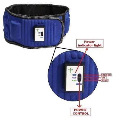 Electric Abdominal Tummy Slimming Belly Burner Lose Weight Fitness Massage Belt image 3