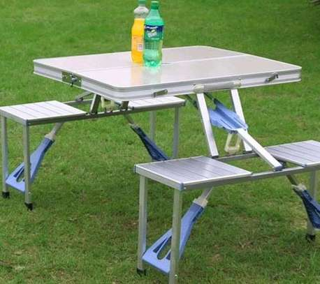 Aluminium picnic table/portable table /alminium table and chair