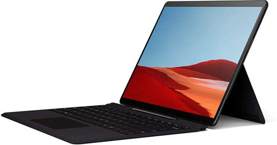"""NEW Microsoft Surface Pro X – 13"""" Touch-Screen – Microsoft SQ1 - 8GB Memory - 128GB Solid State Drive – WIFI + 4G LTE – Matte Black image 1"""