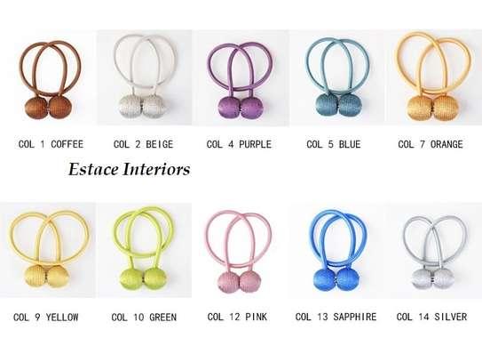 Curtain holder/ Tie backs image 1