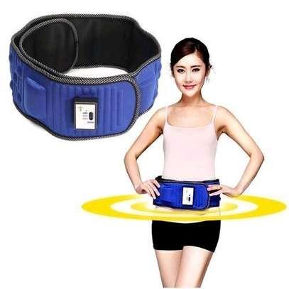 Electric Abdominal Tummy Slimming Belly Burner Lose Weight Fitness Massage Belt image 2