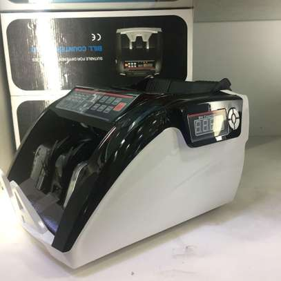 EUR/USD/HKD/TWD/KSHS High Duty Money counter Billnotes Detector with UV MG IR DD Money counting machine Automatic Bill counter image 1