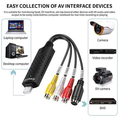 Easycap USB 2.0 Easy Cap Video VHS TV DVD DVR Video Capture Adapter image 4