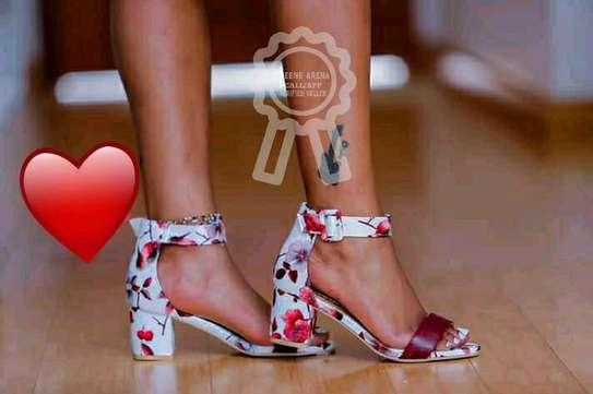 Trendy Chunky Heels image 1
