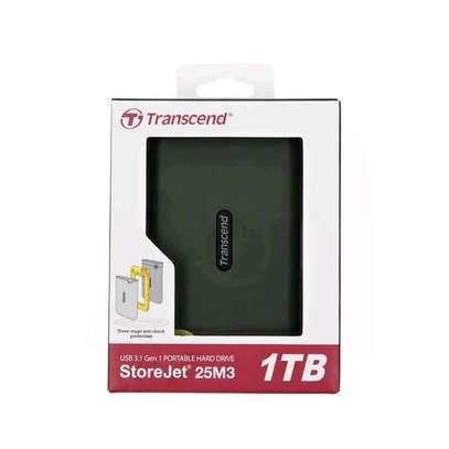 1TB Transcend External Hard Disk image 1