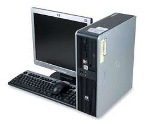 HP DESKTOP WITH 17INCH TFT SCREEN