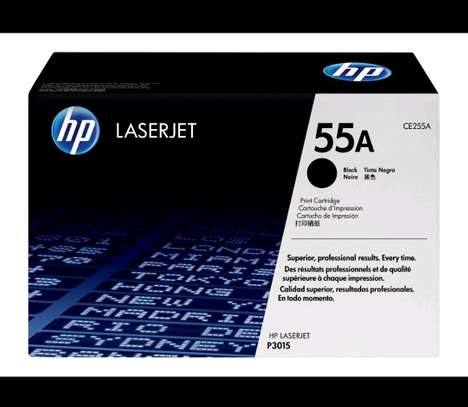 HP 55A Black Original LaserJet Toner Cartridge(CE255A)