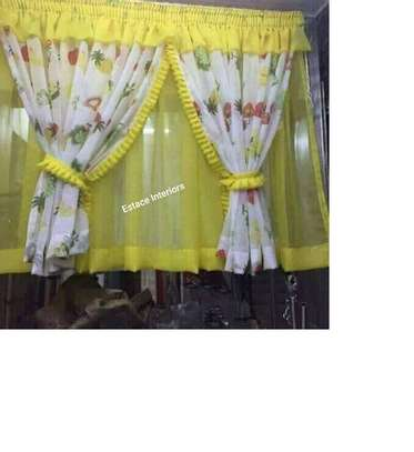 Elegant kitchen curtains image 7