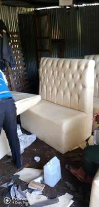 Functional Beautiful Quality 3 Seater Bar/Restaurant/Nail Spa/Lounge Seat image 1