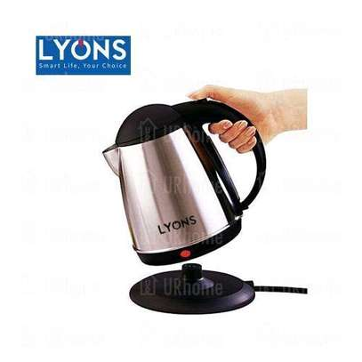 Cordless Lyons Stainless Steel Electric Kettle - 1.8L image 2