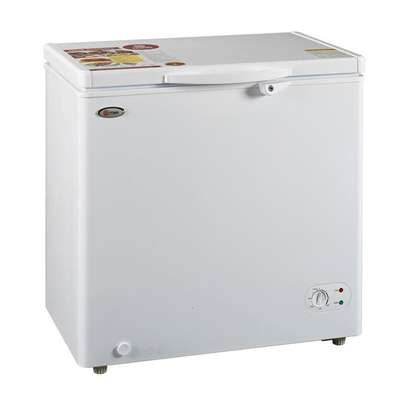 Mika MCF 150W(SF190W) - Chest Deep Freezer, 6.9Cu.Ft,Gross Capacity 190,Net Capacity 150 Litres - White