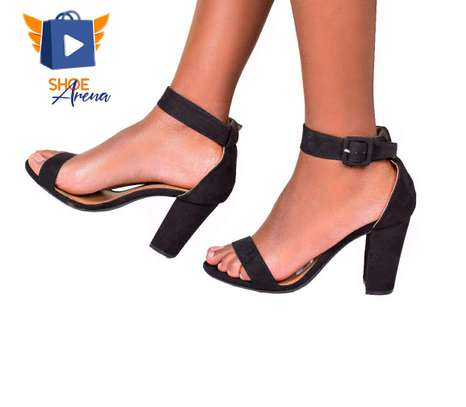 Elegant Chunky Heels image 1