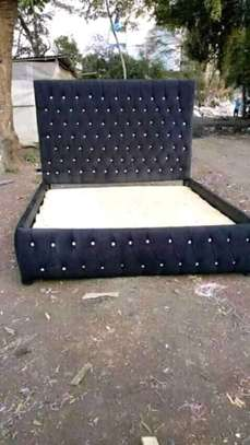 Fabric /Leather tufted beds. image 3