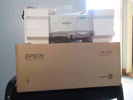 Epson Projector EB-2042 with 4400 Lumens