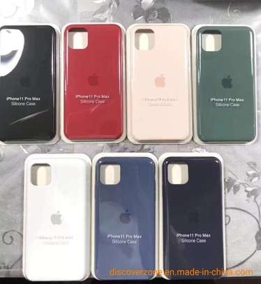 Silicone case with Soft Touch for iPhone 11,iPhone 11 Pro,iPhone 11 Pro Max image 5