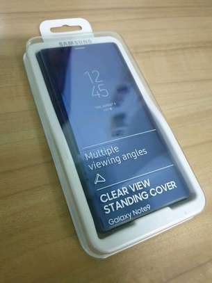Official Clear View Case with Sensor for Samsung Galaxy Note 9 image 2