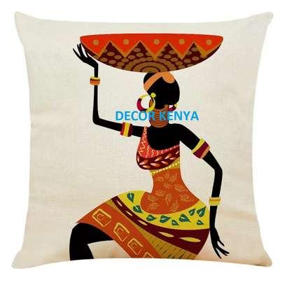 African throw pillow cases/Nairobi image 2