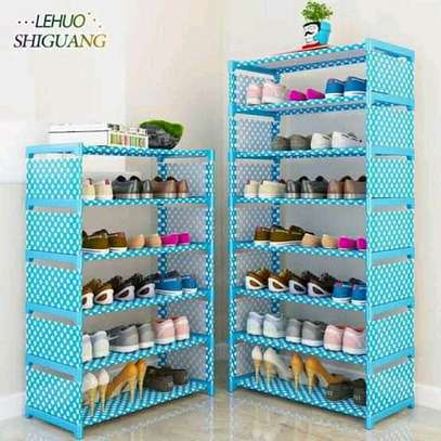 Portable shoe rack(7 layer) image 1