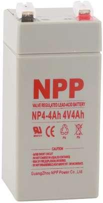 Battery 4 Volt 4.5 Ah Sealed Lead Acid Battery image 1
