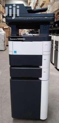 Tested kyocera m3040 dn photocopier machine image 1