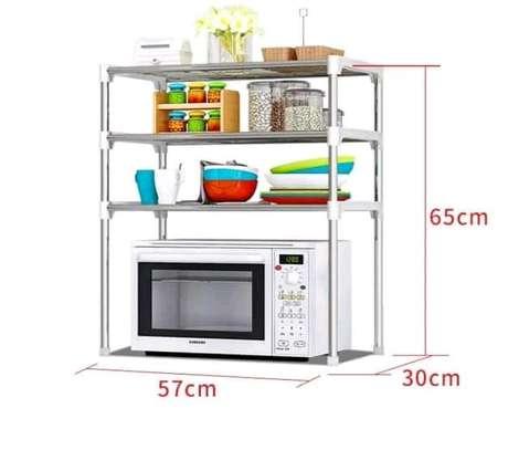 3 Tier Microwave stand Adjustable image 1