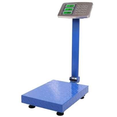 300kg industrial platform weighing scale image 1