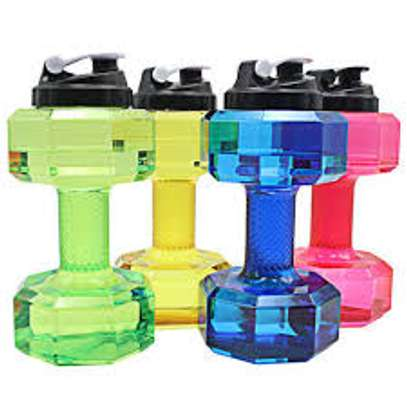 Dumbbells water bottle