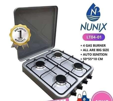 Gas Cooker*4 Burners*Nunix*KSh 5000 image 1