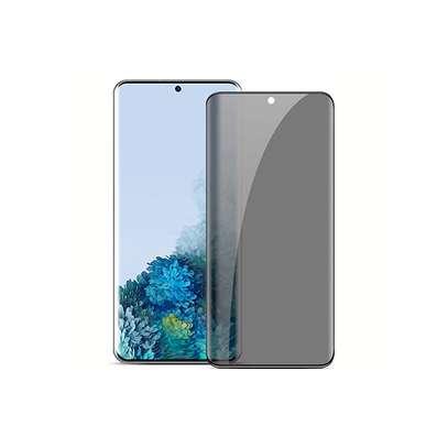 UV Privacy Anti-Spy Anti-Peep NANO Liquid Full Glue Tempered Glass For Samsung S20 S20+ S20 Ultra image 4