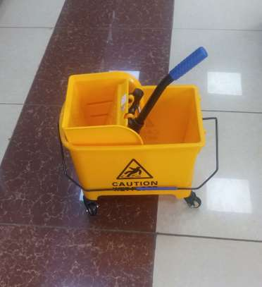 Mop Trolley*Single Bucket*KSh 7000 image 1