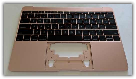 MacBook RETINA 12 A1534 2016 Rose Gold US Keyboard Top Case image 1